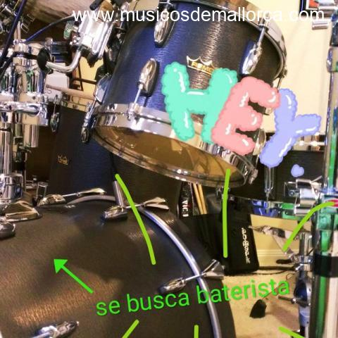 Buscamos baterista con experiencia