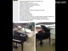 Pianistas y pianos de cola
