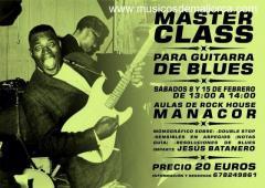 Master Class. Guitarra de Blues