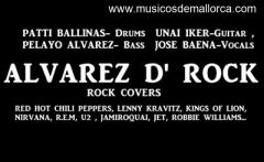ALVAREZ D' ROCK (rock/funk covers band)