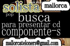 SOLISTA,POP,BUSCA TECLISTA PARA PRESENTAR CD
