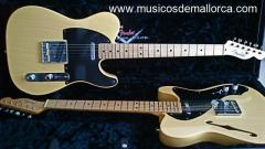 Vendo 2 fender telecaster custom shop