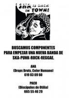 Se busca baterista Ska-Reggae