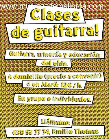 Clases de Guitarra y teorias