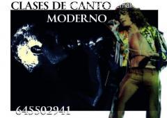 CLASES DE CANTO