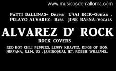 ALVAREZ D' ROCK (rock/funk covers band)