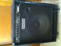 AMPLIFICADOR BAJO (RUMBLE 100W FENDER)