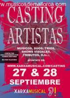 CASTING DE ARTISTAS EN MALLORCA
