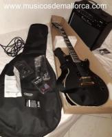 Vendo guitarra electrica+accesorios